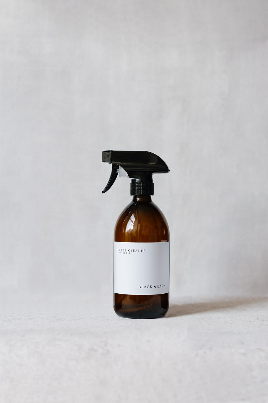 Spray Bottle with White Waterproof Label - 500ml