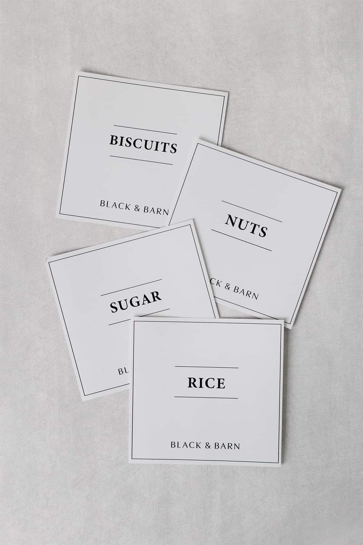 White Pantry Label