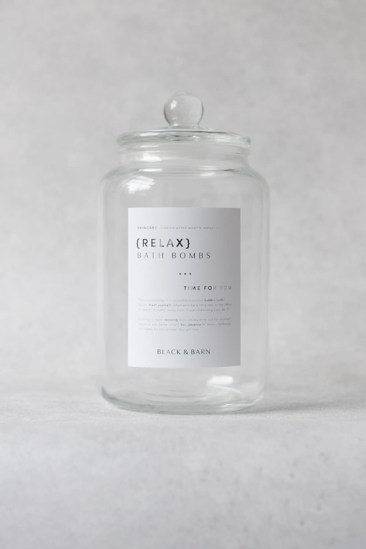 Luxury Bath Jar 3L