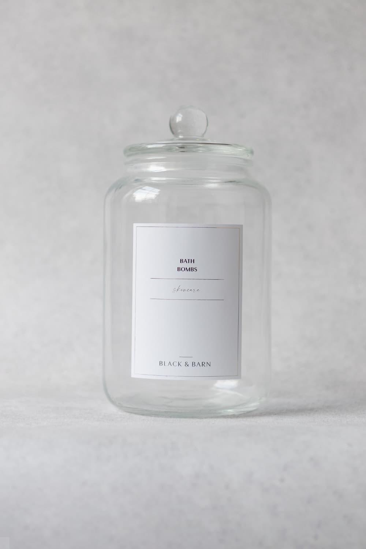 Bath Bomb Jar 3L