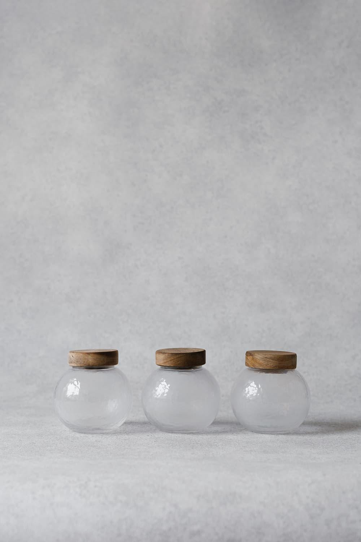 Round Storage Jar - 350ml