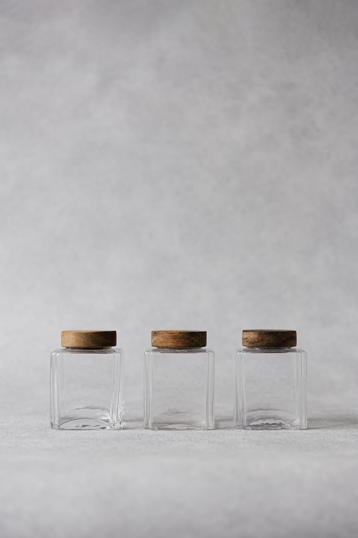 Square Storage Jar - 380ml