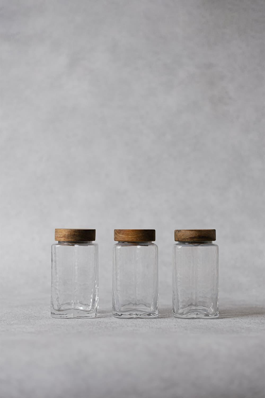 Scalloped Storage Jar - 380ml