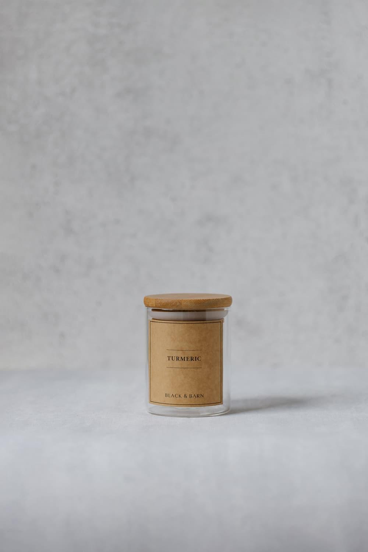 Mini Spice Blend Jar with Kraft Lid - 200ml
