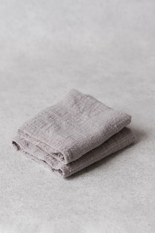 Cotton Towel in Grey