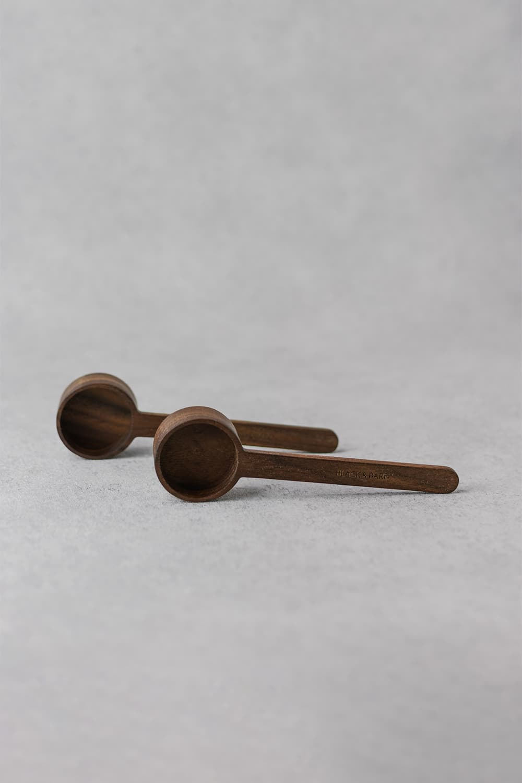 Long Wooden Scoop