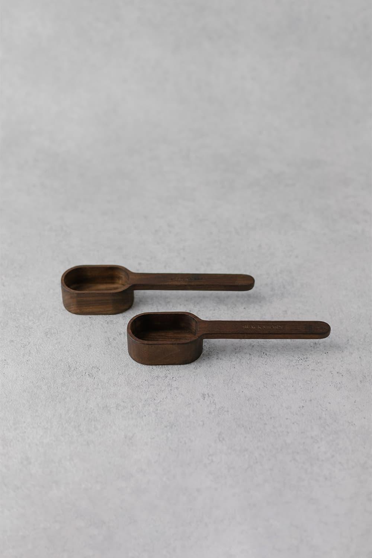 Oval Wooden Scoop