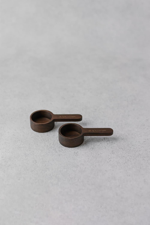 Mini Wooden Scoop