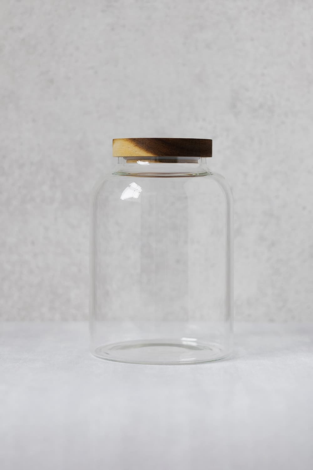 Clear Glass Pantry Jar - 3Litres