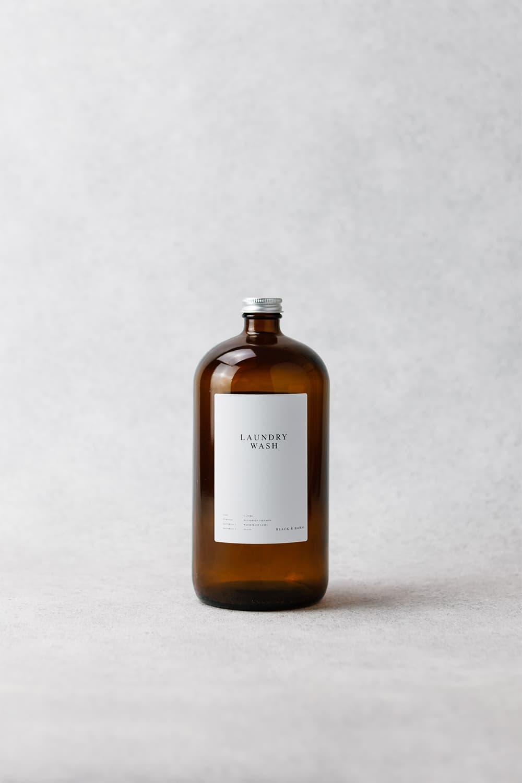 Luxury Amber Utility Bottle