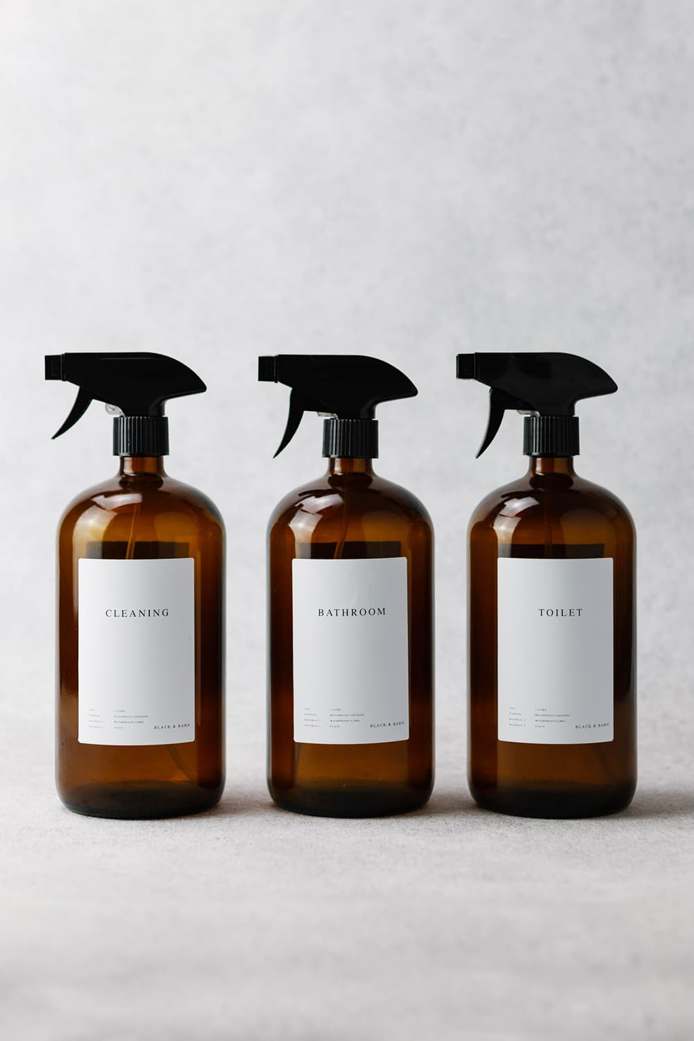 Luxury Cleaning Spray Bottles 3 x 1Litre