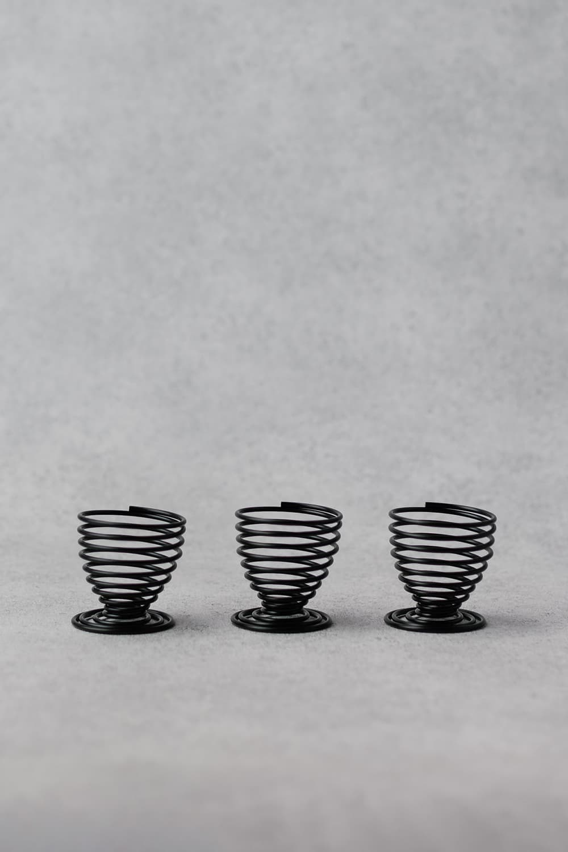 Spiral Egg Cups