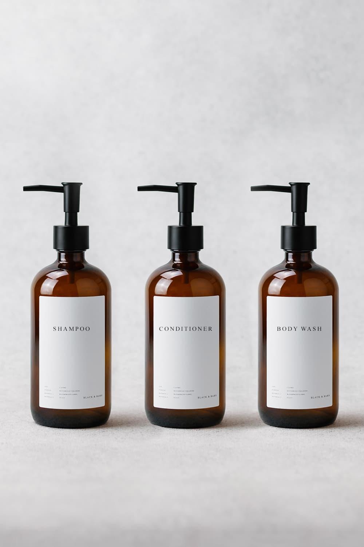 Luxury Bathroom Essentials Trio 500ml
