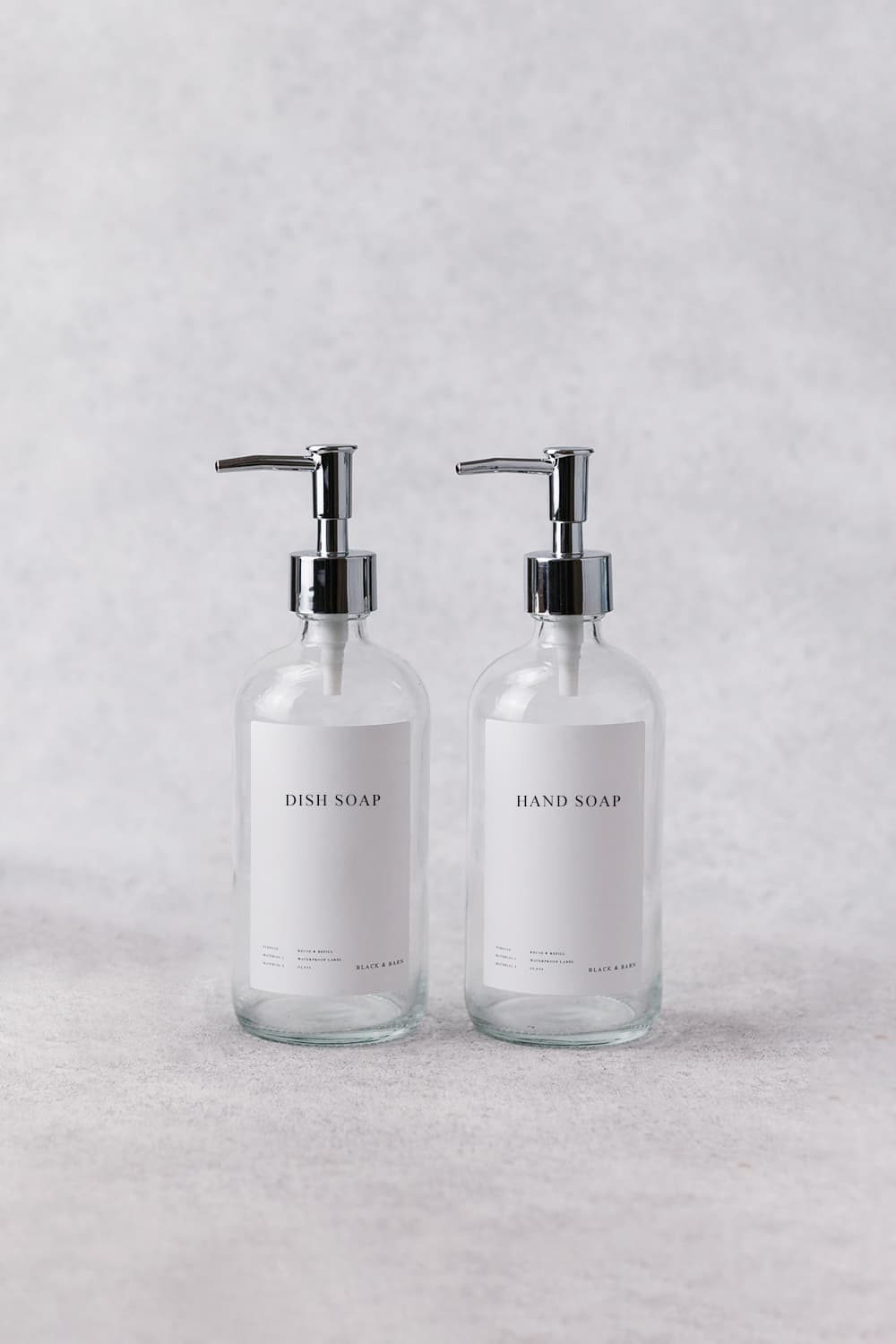 Clear Luxury Hand and Dish Soap Duo 500ml