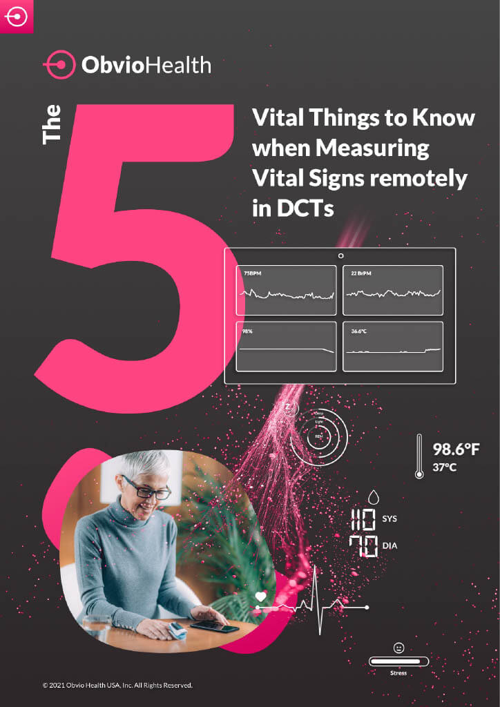 The 5 Vital Things to Know When Measuring Vital Signs Remotely in DCTs (Cover)