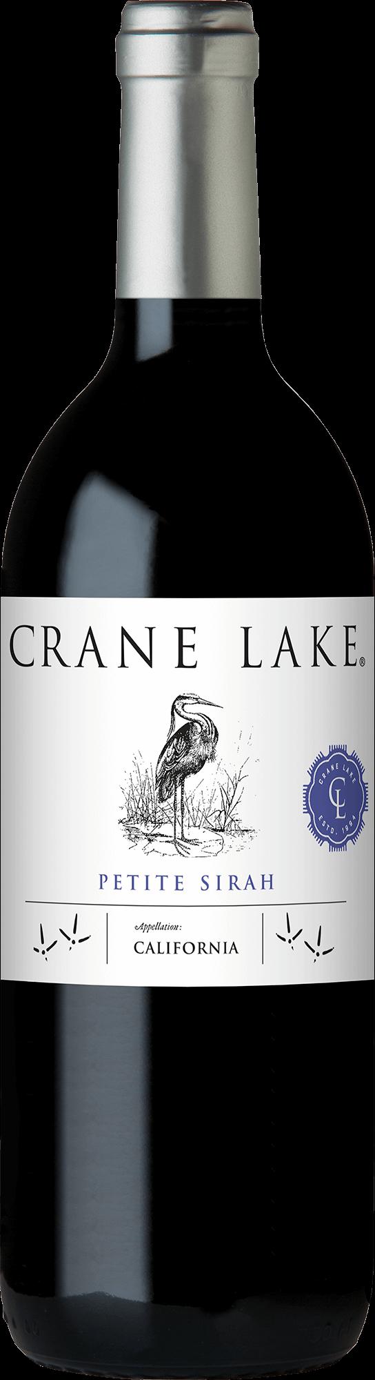 Crane Lake Petite Sirah Bottleshots