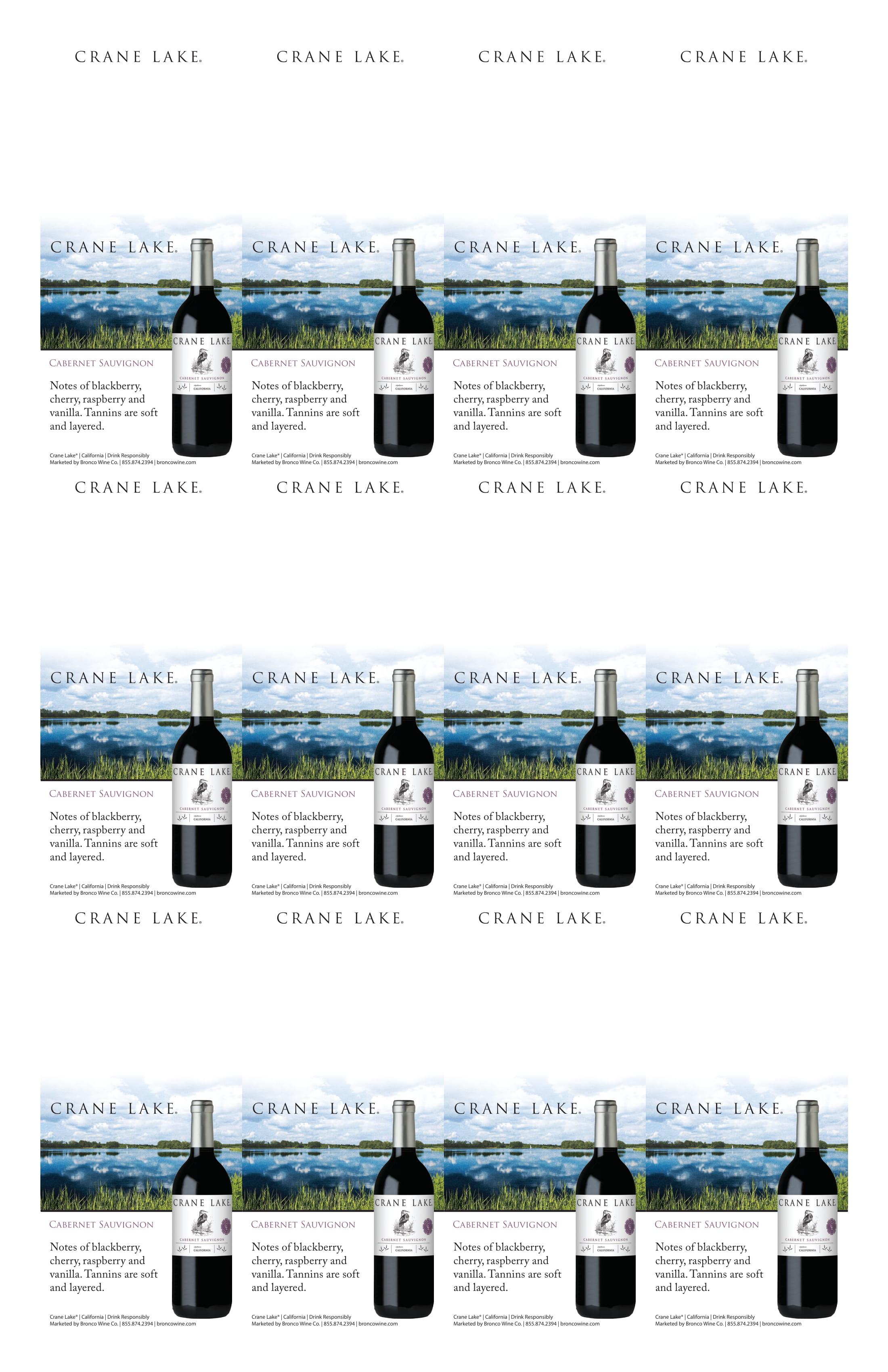 Crane Lake Cabernet Sauvignon Neckers