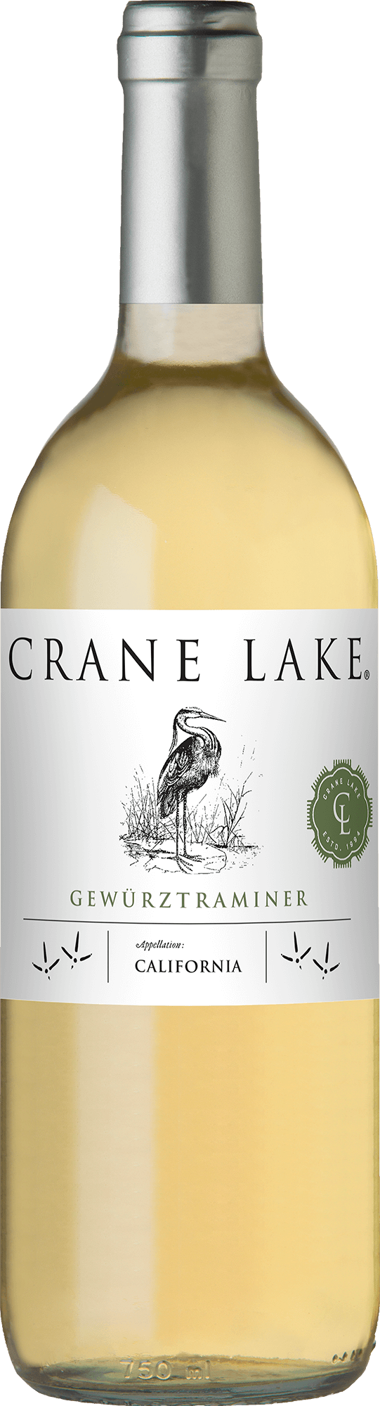 Crane Lake Gerwurztraminer Bottleshots