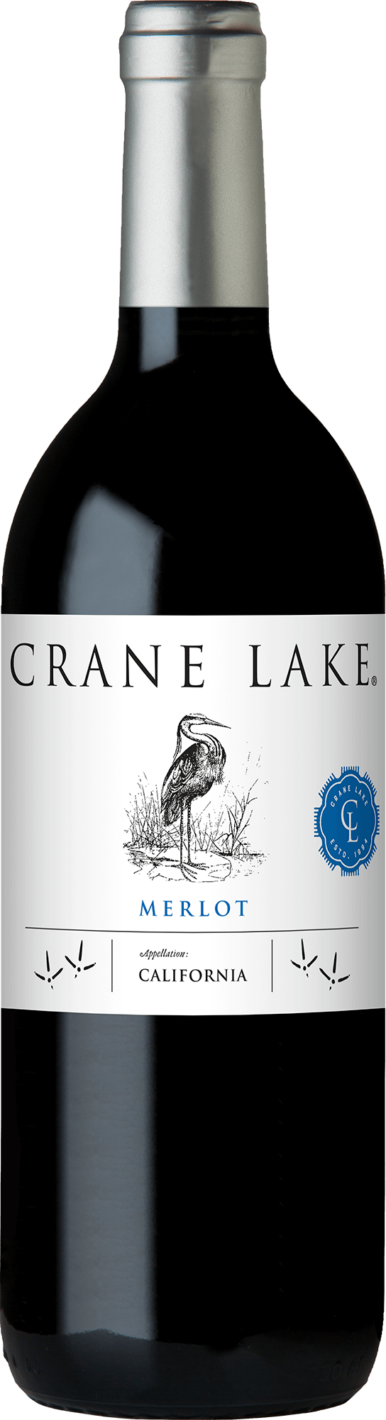 Crane Lake Merlot Bottleshots