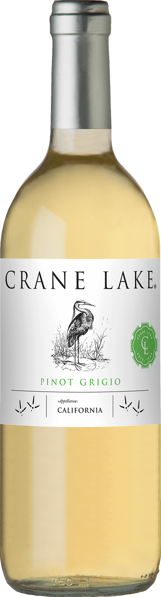 Crane Lake Pinot Grigio Bottleshots