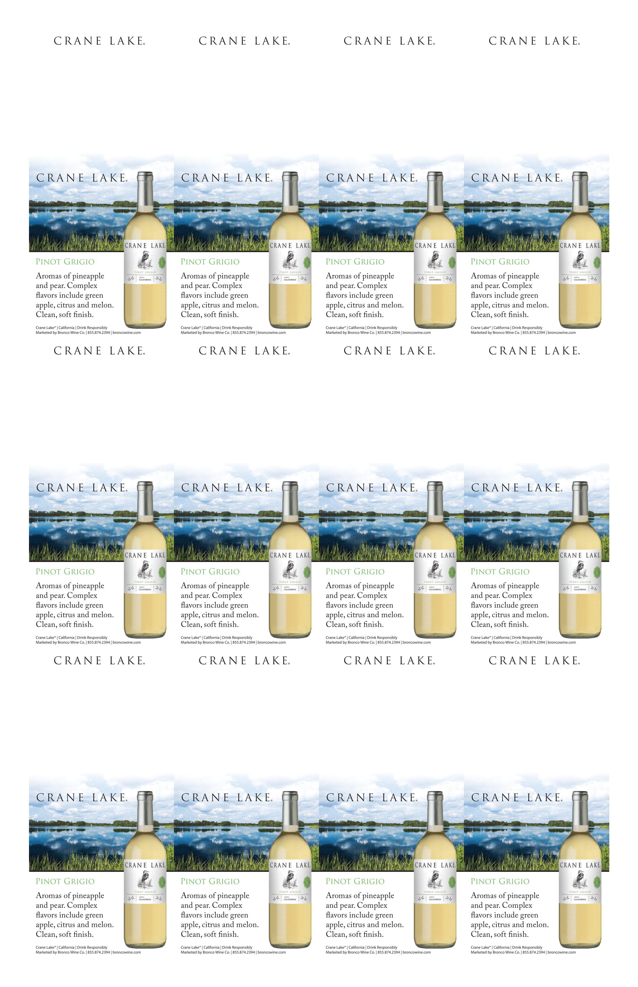 Crane Lake Pinot Grigio Neckers