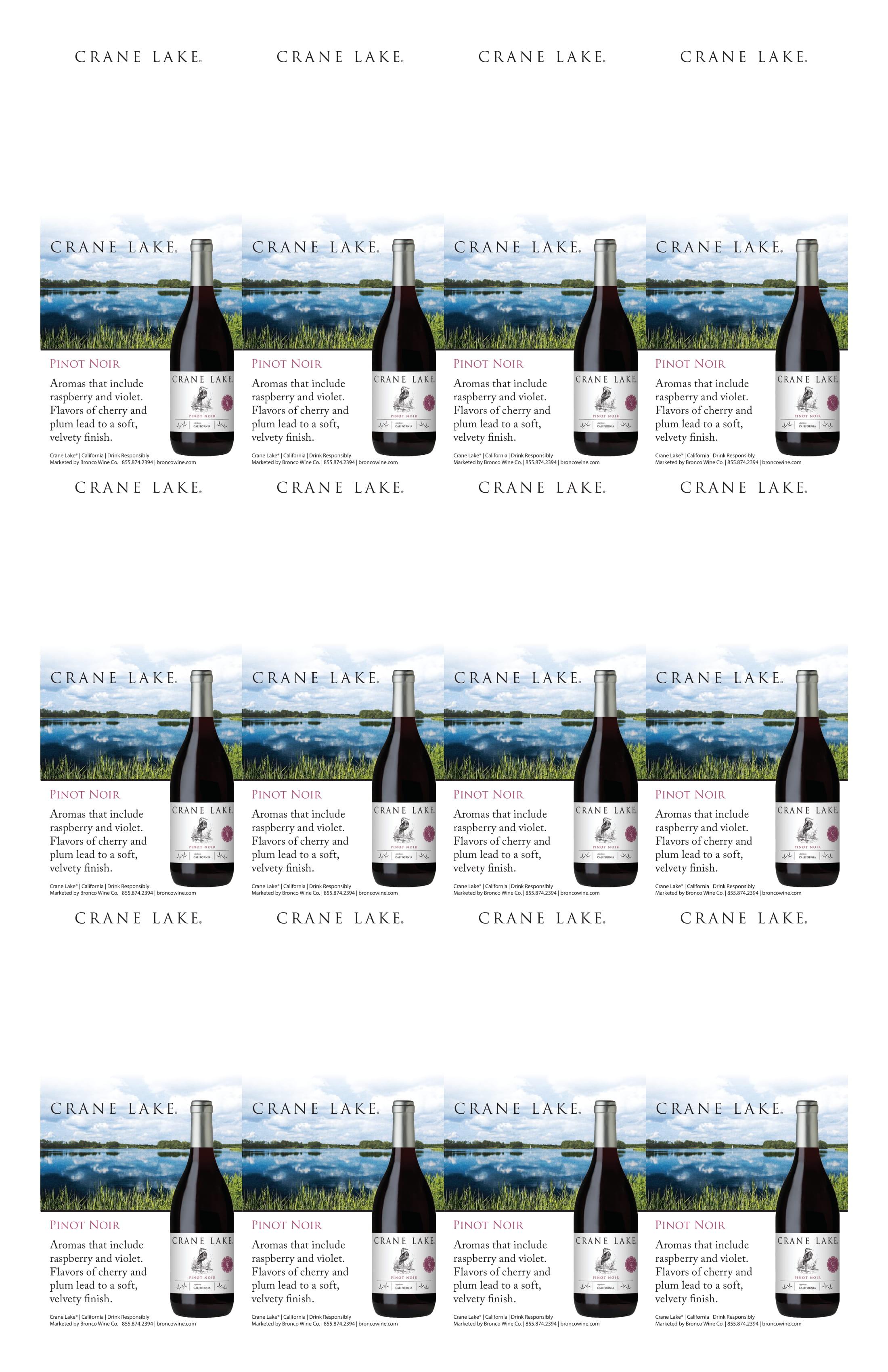 Crane Lake Pinot Noir Neckers