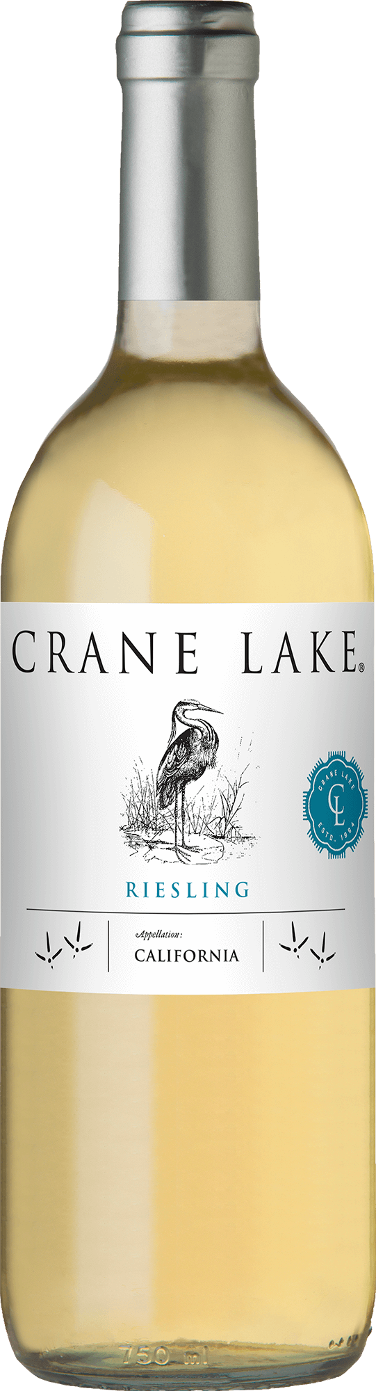 Crane Lake Riesling Bottleshots