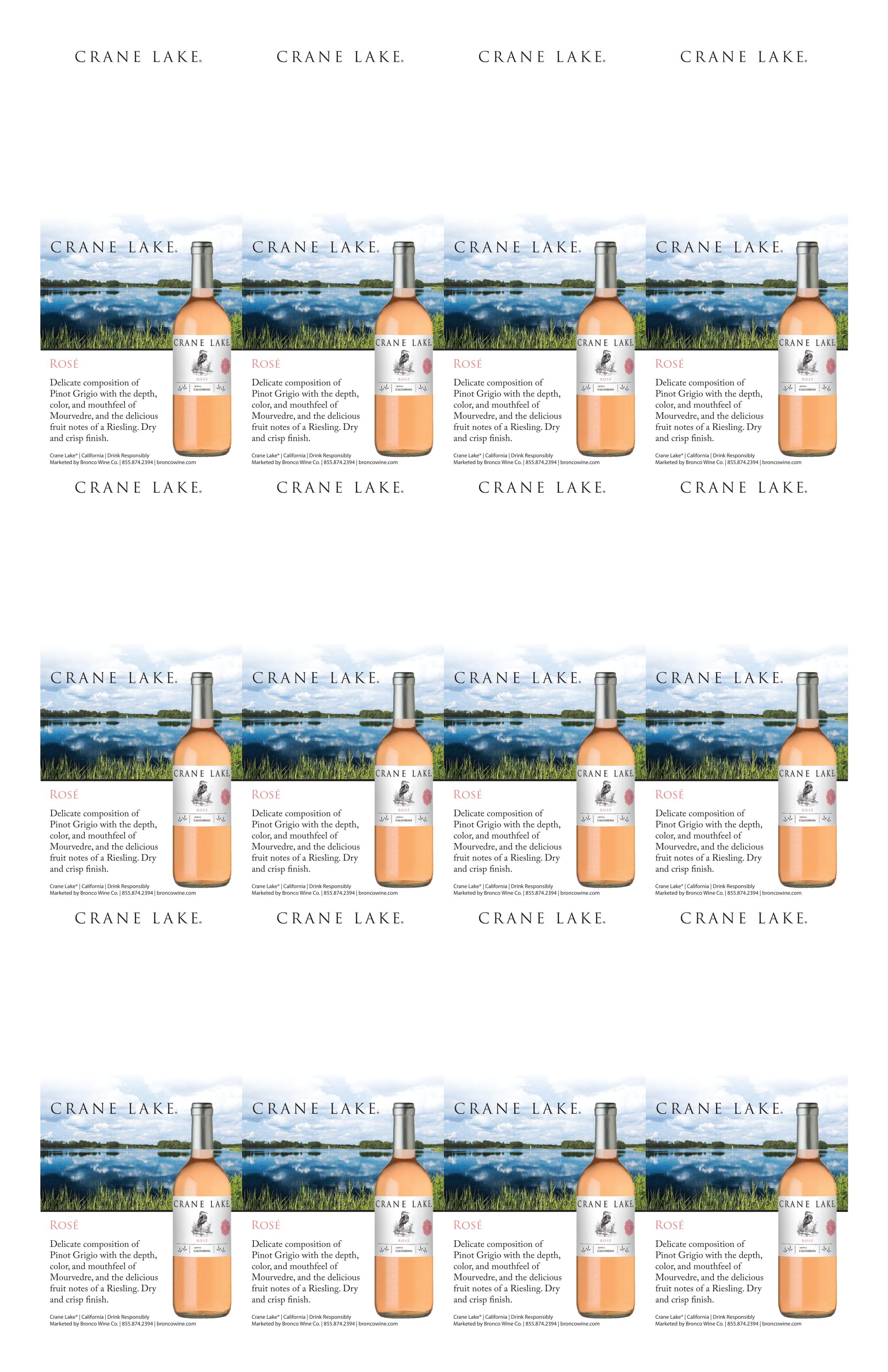 Crane Lake Rosé Neckers