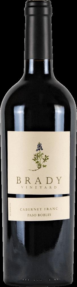 Brady Vineyards Cabernet Franc Bottleshot