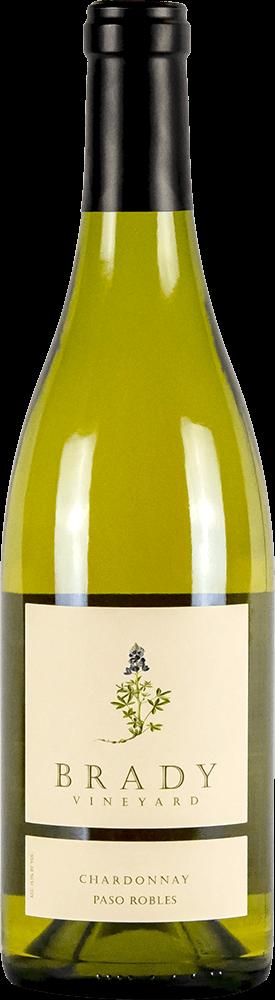 Brady Vineyards Chardonnay Bottleshot