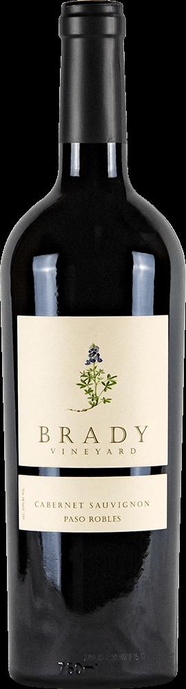 Brady Vineyards Cabernet Sauvignon Bottleshot