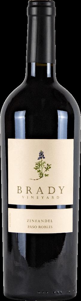 Brady Vineyards Zinfandel Bottleshot
