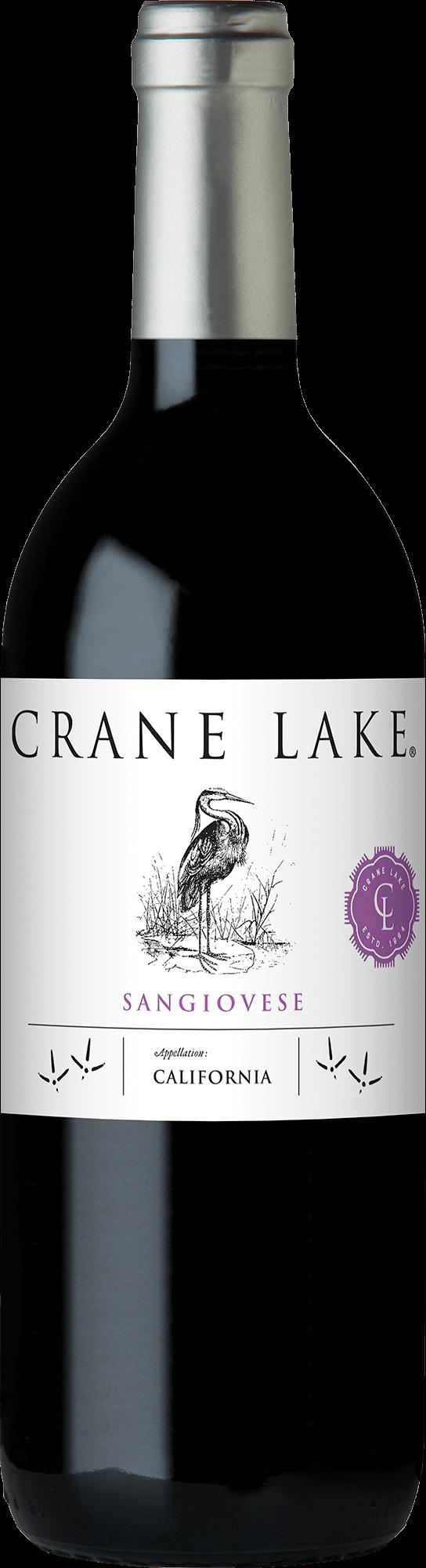 Crane Lake Sangiovese Bottleshots