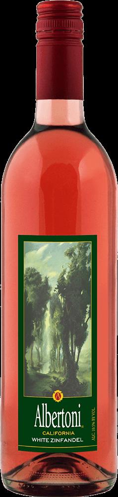 Albertoni White Zinfandel Bottleshot