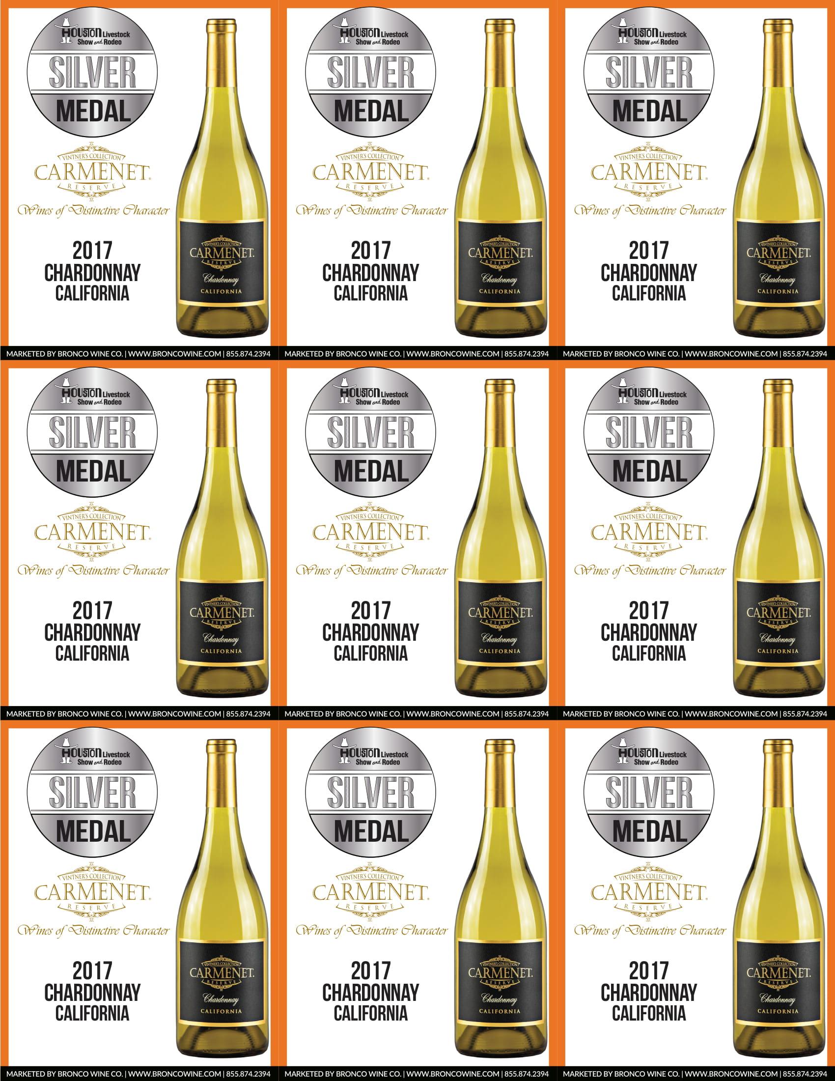 Carmenet Chardonnay Shelf Talkers