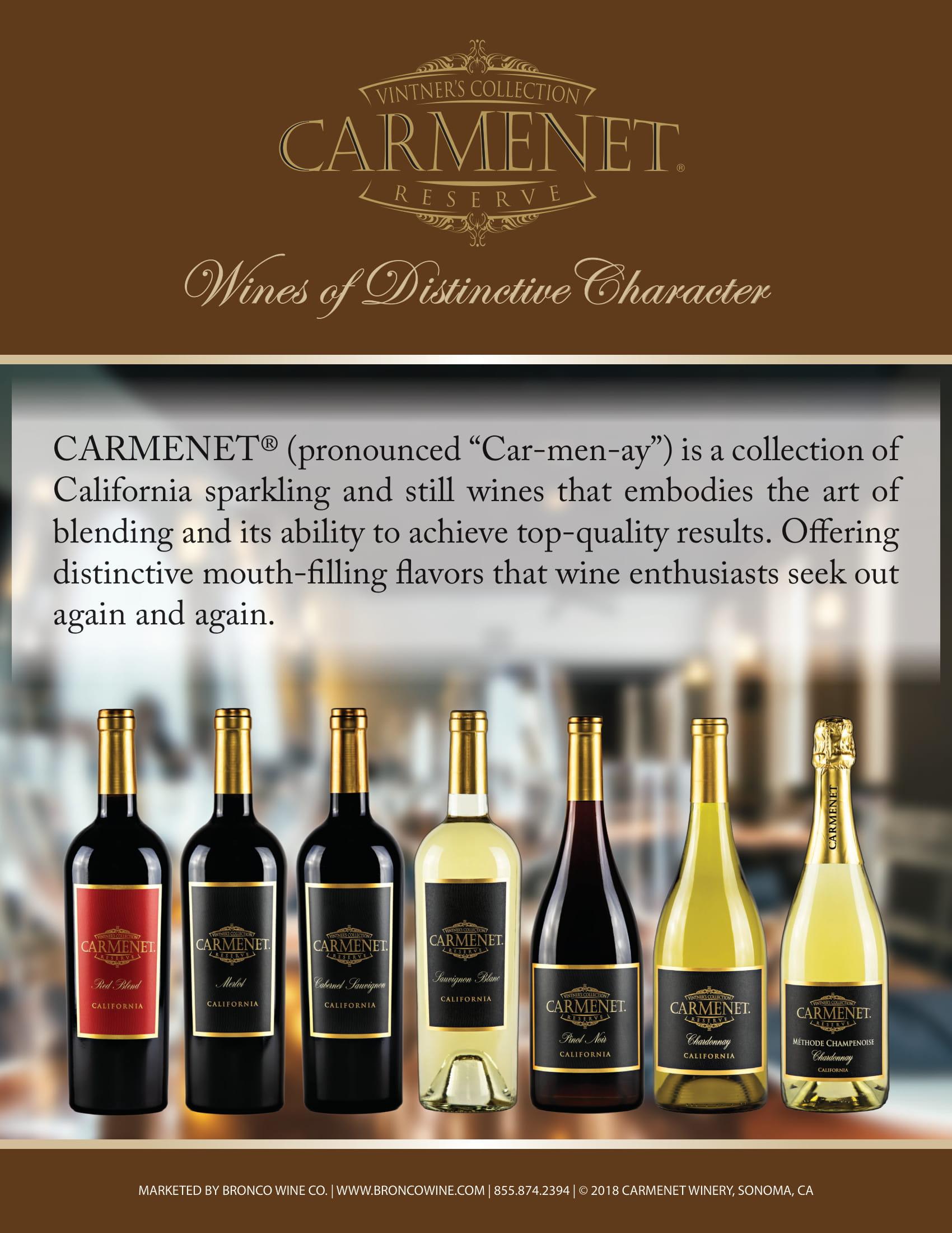 Carmenet Family Sell Sheet