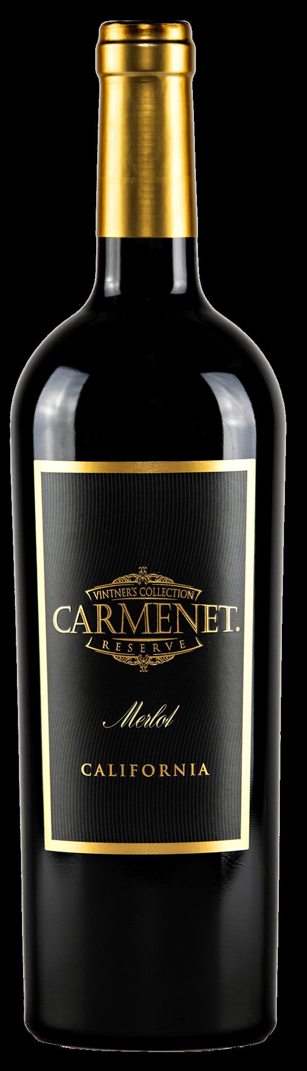 Carmenet Merlot Bottle Shot