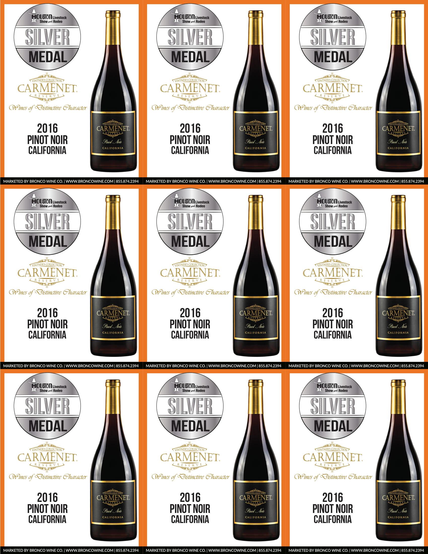 Carmenet Pinot Noir Shelf Talkers