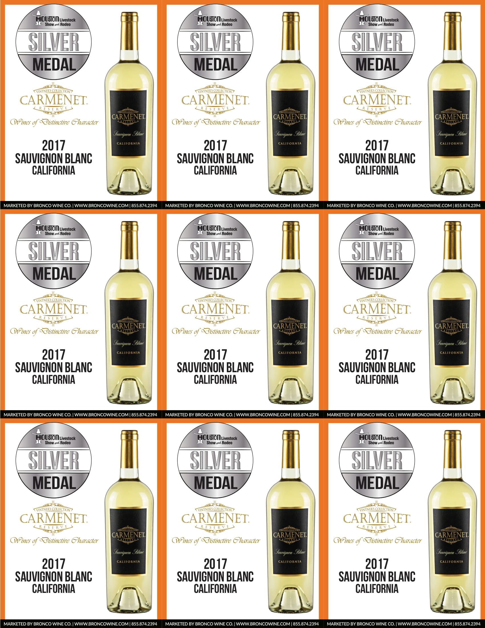 Carmenet Sauvignon Blanc Shelf Talkers