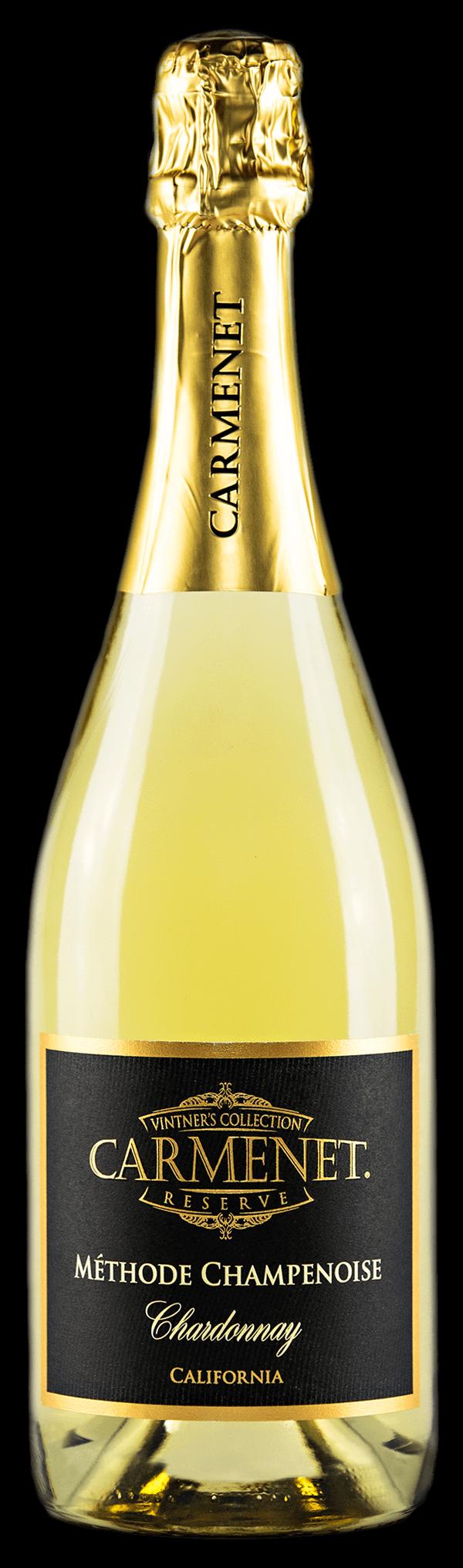 Carmenet Sparkling Chardonnay Bottle Shot