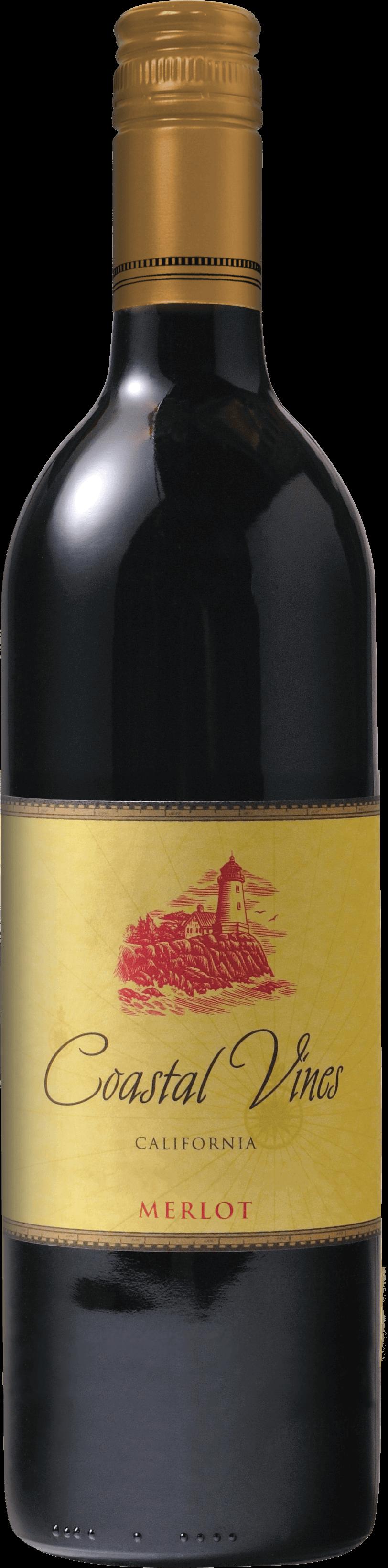 Coastal Vines Merlot Bottleshot