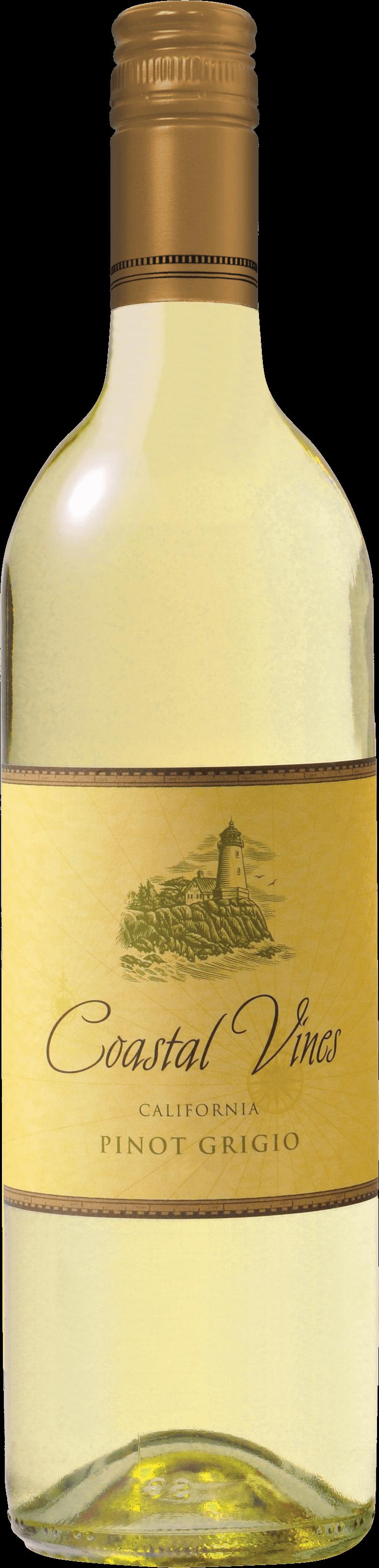 Coastal Vines Pinot Grigio Bottleshot