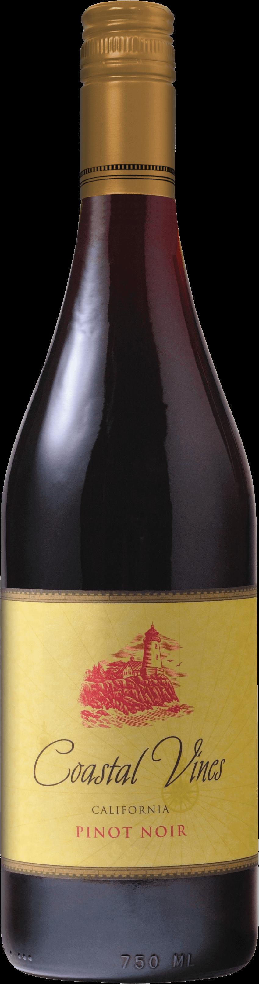Coastal Vines Pinot Noir Bottleshot