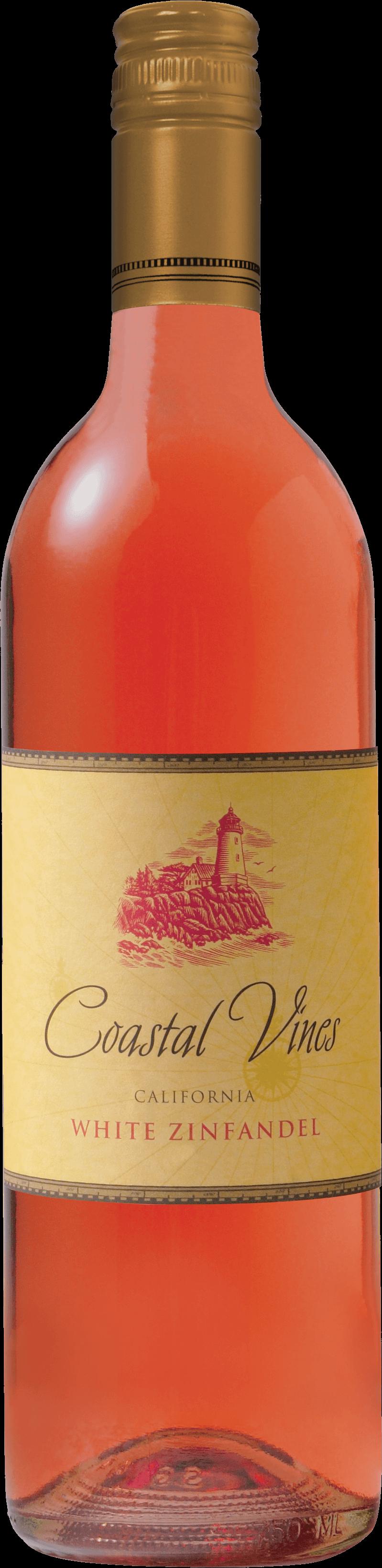 Coastal Vines White Zinfandel Bottleshot