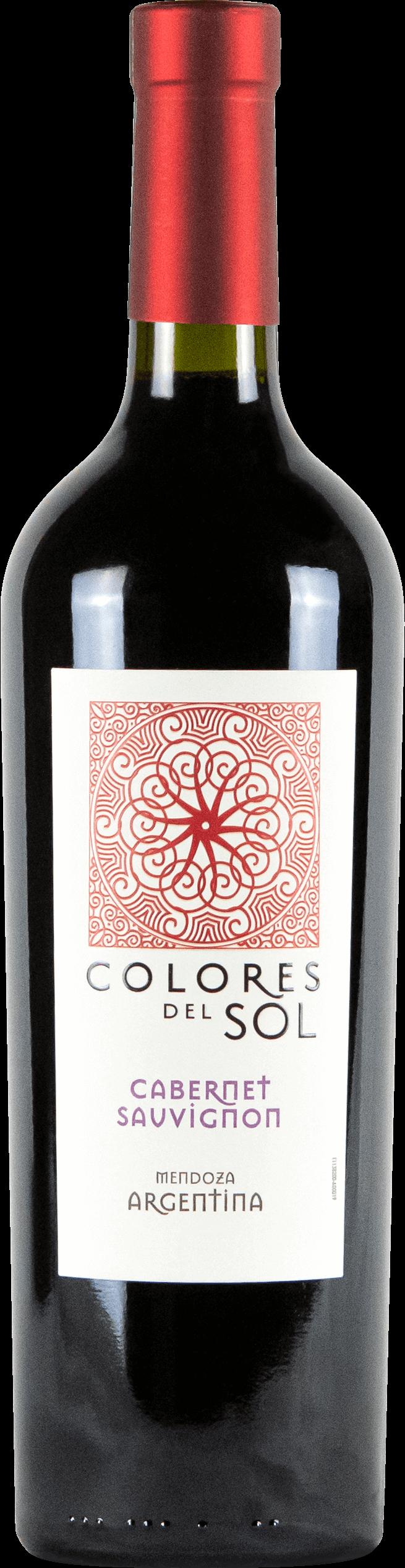 Colores Del Sol Cabernet Sauvignon Bottleshot