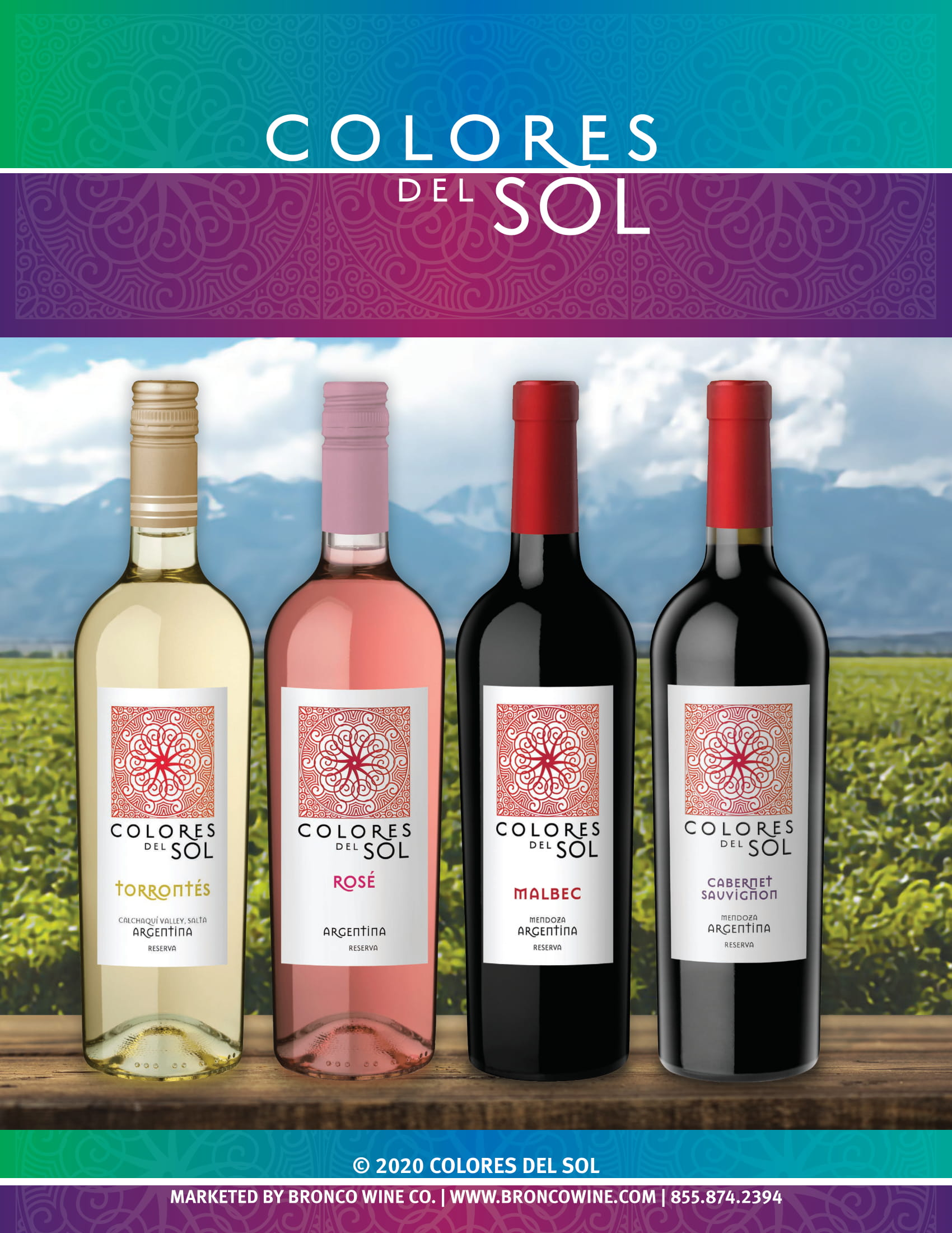 Colores Del Sol Family Sell Sheet