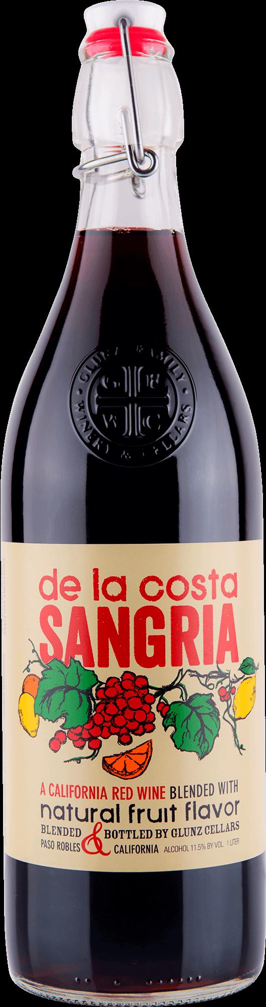 De La Costa Red Sangria Bottleshot