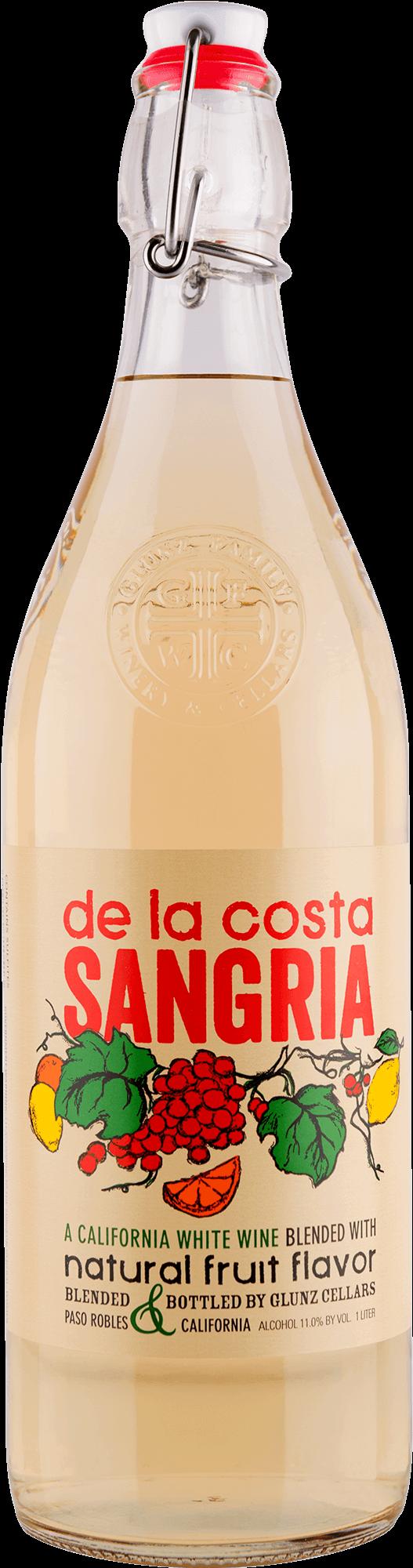 De La Costa White Sangria Bottleshot