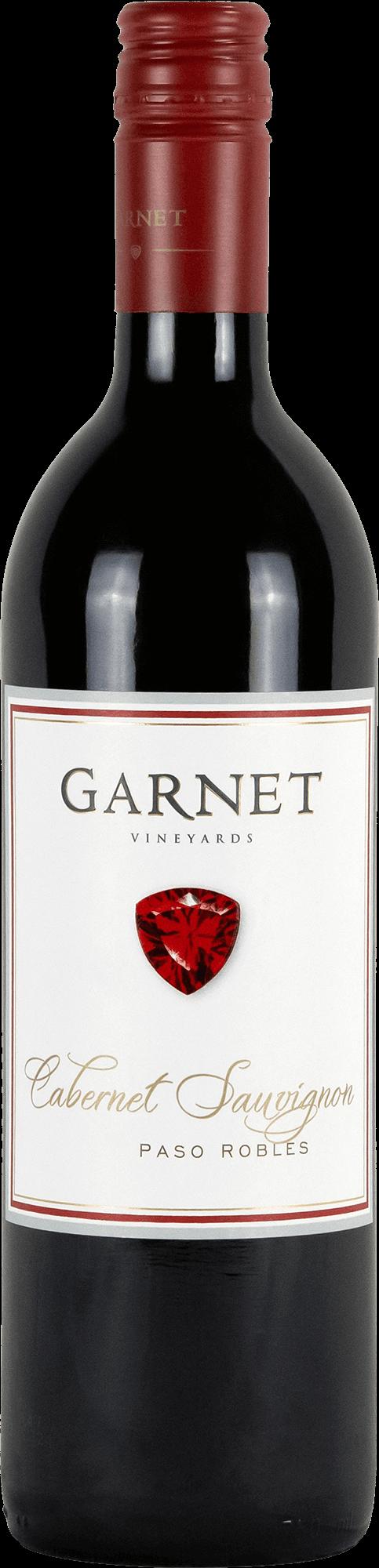 Garnet Vineyards Paso Robles Cabernet Sauvignon Bottleshot