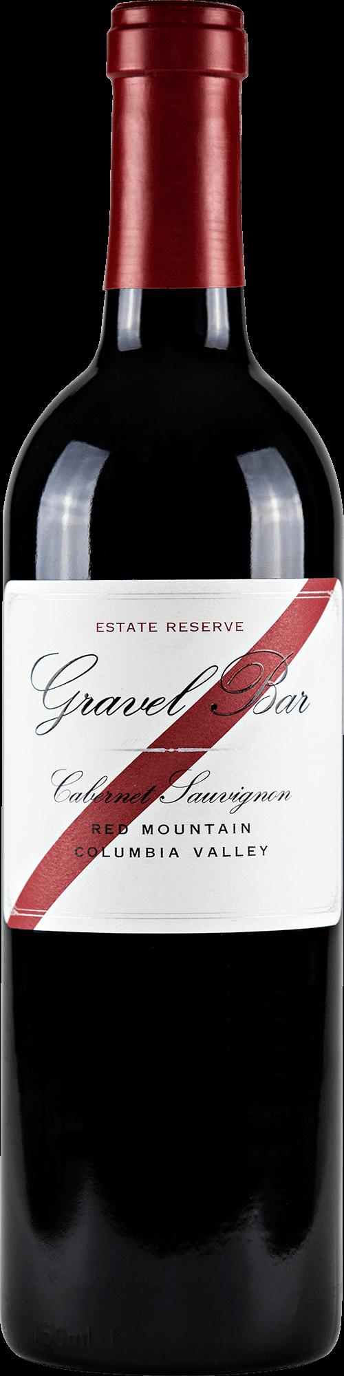 Gravel Bar Cabernet Sauvignon Reserve Bottleshot